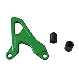 JRL CNC Front Sprocket Chain Cover Guide Guard Protector For Kawasaki KX250F 04-16