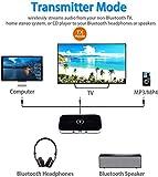 Bluetooth 5.0 Transmitter Receiver, Geva 2-in-1