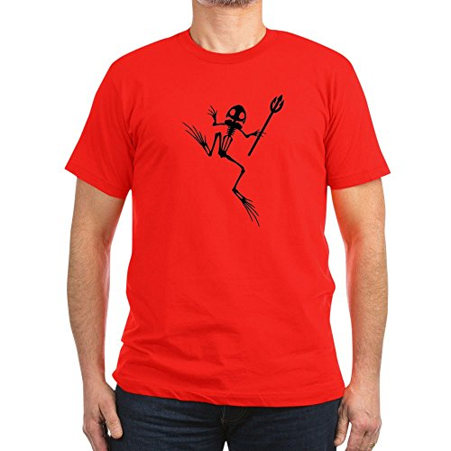 CafePress - Desert Frog W Trident - Men's Fitted T-Shirt,, used for sale  Delivered anywhere in USA
