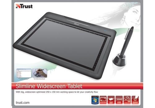 DRIVERS: TRUST SLIMLINE WIDESCREEN TABLET