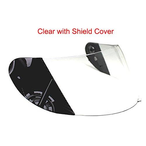 1Storm Motorcycle Full Face Helmet Visor Shield for Brand 1Storm Helmet: Model HJDJ11, DJ11 by 1Storm