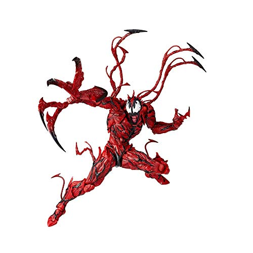 Red Venom Toys Venom Action Figure The Amazing Bjd Joints Movable Venom Figure Model Toy- Complete Series Merchandise - Legends Gifts Movies Comic Toys Collection -