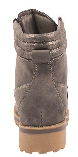 Elara - botas de nieve Mujer gris