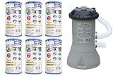 Intex 1000 GPH Easy Set Pool Filter Pump w/GFCI & 6