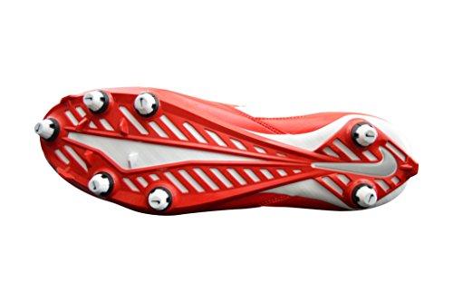 NIKE Herren Vapor Speed Low TD geformte Fußballschuh Rot / Blau / Weiß