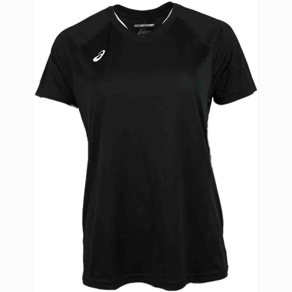 ASICS Women's Circuit 8 Warm-up Shirt, XX-Large, Black