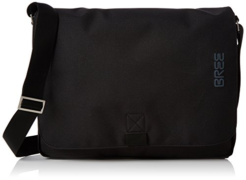 BREE Punch Style 49, Black, Messenger Bag, Unisex Adults' Shoulder Schwarz (Black), 8x28x38 cm (B x H T) (Bree Punch)