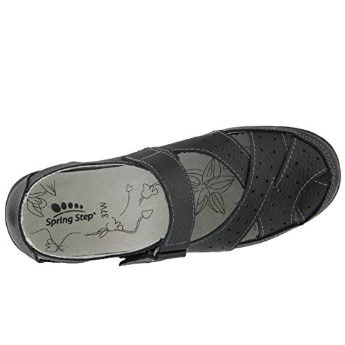Streetwise Spring Step On Womens Black Womens Leather Slip Spring Shoes Step Xx1wfq