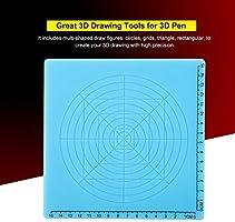 Pokerty Accesorios de Impresora 3D, Estera de diseño de Silicona ...