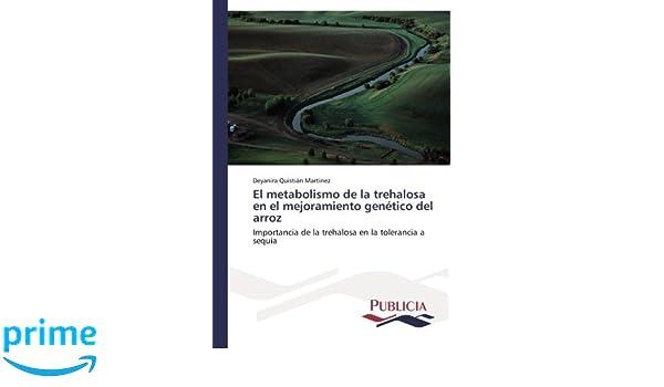 El metabolismo de la trehalosa en el mejoramiento genético del arroz ...