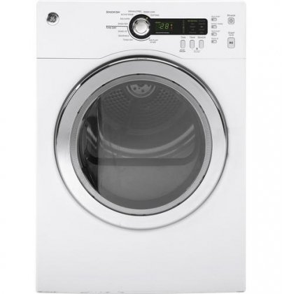 ge 4 cu ft electric dryer - 1