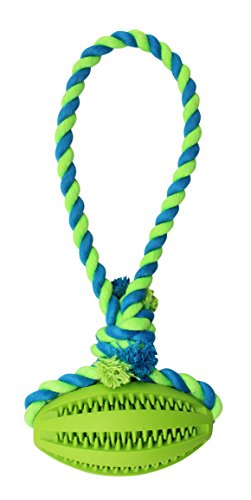 Dogs Toy Rope With Ball for Playing Fetch, Tug of War, Stuffing With Treats and Training your Dog.