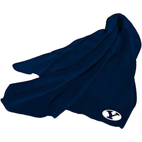 - NCAA BYU Cougars Fleece Throw Blanket
