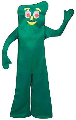 Gumby Costume - One Size - Chest Size 48-52
