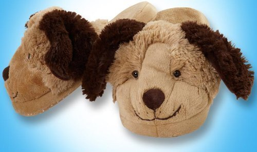 My Pillow Pets Dog Slippers Small(Kids) by CJ Products
