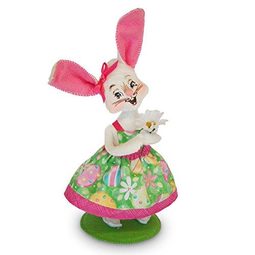 Annalee 6in Easter Parade Girl Bunny (Easter Parade Bunny)