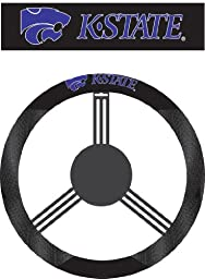 NCAA Kansas State Wildcats Poly-Suede Steering Wheel Cover