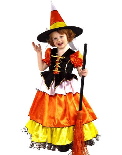 candy corn witch - 1