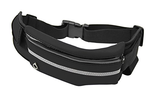MOT Global Running Belt Waist Pack for Universal Outdoor Sports Fit Most Mobile Phones Men & Women Review