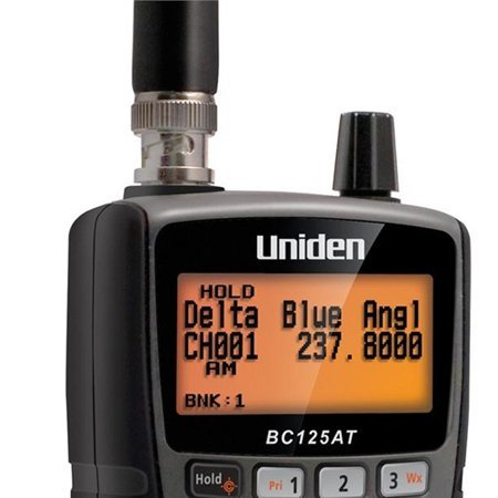 Uniden Bearcat BC125AT 500 Alpha Tagged Channel Bearcat Handheld Scanner (2-Pack)