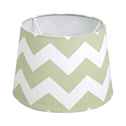 Lolli Living Seaglass Grey Zig Zag Lamp Shade by Lolli Living