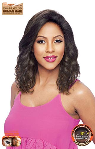 TH34NC KINEE - Vanessa 100% Brazilian Human Hair Swiss Silk Deep Lace Front Wig