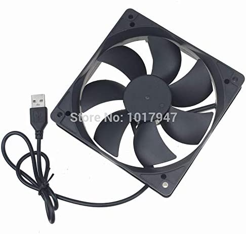 2Pcs Lot Gdstime 5V USB 1500rpm 0.2a 12cm 120mm 120mm x 25mm PC Fan Cooler Heatsink Exhaust