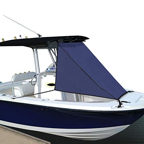 Oceansouth 2 Bow Bimini Top in Blue Available in Three Different Sizes (59