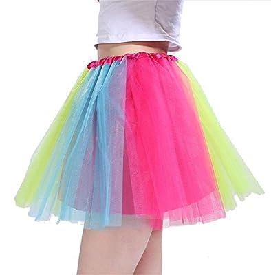Beluring Womens Girls 3 Layers Tutu Skirt Party Dance Ballet