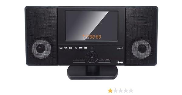 i-Joy Argus II - Minicadena, color negro: Amazon.es: Electrónica