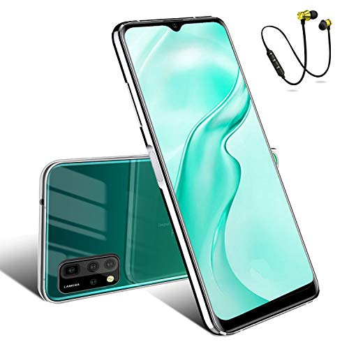 65-inch-Android-10-Unlocked-Smartphone-with-6GB-RAM64GB-ROM-256GB-Extension-Dual-SIM-Face-Recognition-Smartphones-4500mAh-HD-Camera-Mobile-Phone-Green