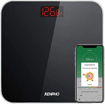 RENPHO Bluetooth Bathroom Scale Digital Weight ...