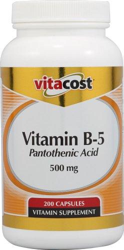 Vitacost Vitamine B5 Acide