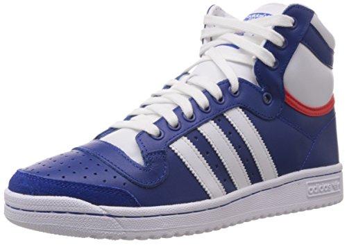 adidas Top Ten Hi, Unisex-Erwachsene Hohe Sneakers Blau (Collegiate Royal/Core White/Red-Sld)
