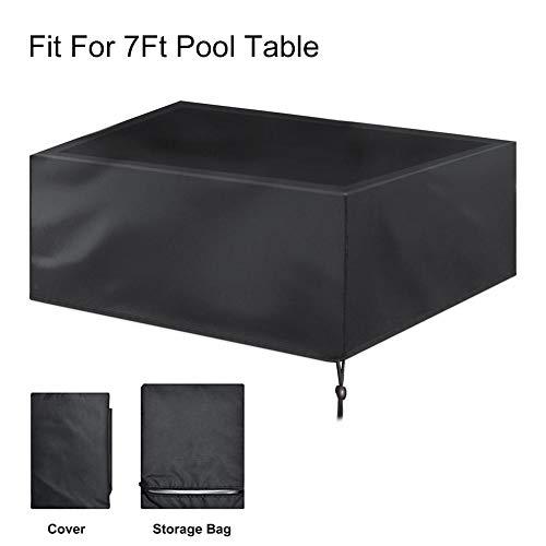 당구대 용 커버 장착이 쉬운 강건한 방수 방진 덮개 내구성 210D 牛津 피복 당구대 / Billiard table cover Easy to install Sturdy Waterproof Dust Proof Cover Durable 210D Usizufu Pool Table