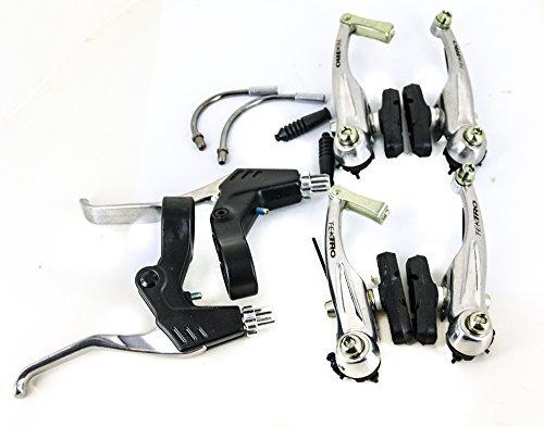 Tektro V-Brake Set + Levers MTB Hybrid Bike Front + Rear NEW by Tektro