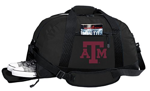 - NCAA Texas A&M Duffel Bag - Texas A&M Aggies Gym Bags w/Shoe Pocket