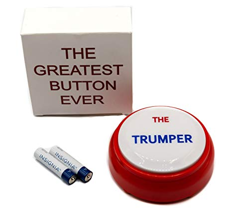 Donald Trump Toy Talking Presidential Button Says a Few Phrases Perfect Funny White Elephant Office Gift