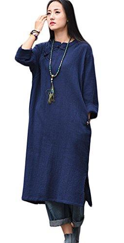 Soojun Womens Vintage Chinese Dresses