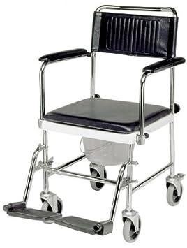 Móvil de baño de la silla de // silla para ducha con diseño de silla de ruedas: Amazon.es: Hogar