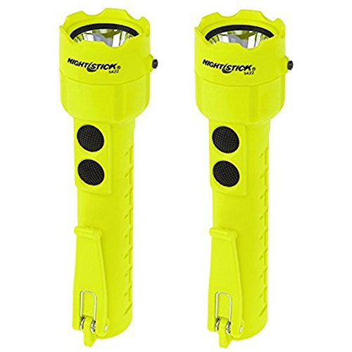 Dual Light Flashlight - (2 Pack) Bayco Nightstick XPP-5422G Intrinsically Safe Permissible Dual-Light Flashlight, Green (3 AA Batteries Not Included)