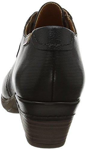Pikolinos Damen Rotterdam 902_i17 Derbys Schwarz (Black)
