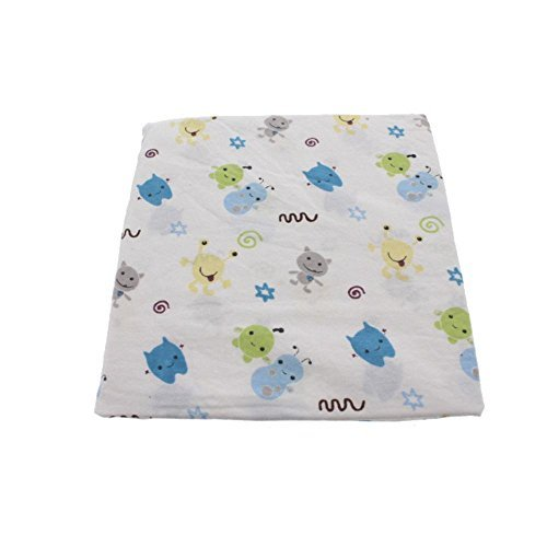 (CoCaLo Baby Peek A Boo Monsters Fitted Sheet by Cocalo )
