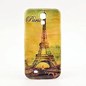 MOM ships in 48 hours Famouse Eiffel Tower Pattern Plastic Protective Back Cover for Samsung Galaxy S4 I9500