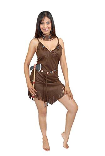Charades Women's Pocahontas, Brown, X-Small -