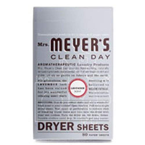 Mrs. Meyer's Clean Day Dryer Sheets - Lavender - 80 ct - 3 pk
