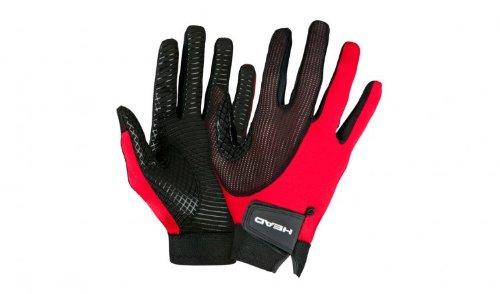 Head Web Racquetball Glove- Red/White/Black (Left Hand) (LG)