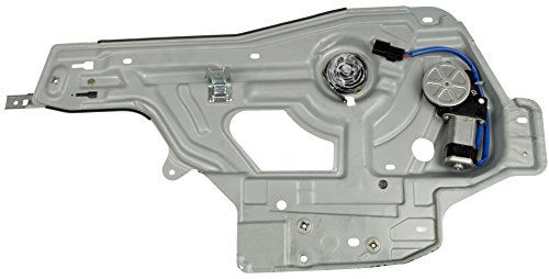 Dorman 748-315 Hyundai Santa Fe Front Passenger Side Power Window Regulator with Motor (Santa Fe Door Blue)