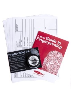 Fingerprint kit by Crime Time