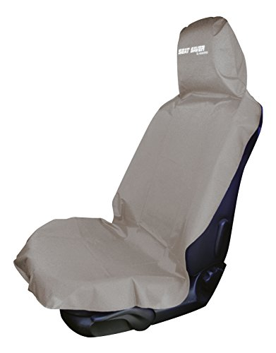 SEAT SAVER - Waterproof Removable Universal Car Bucket Seat Cover - Easy on and Off